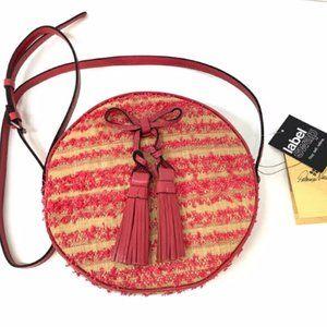 Patricia Nash Pink Round Crossbody Bag
